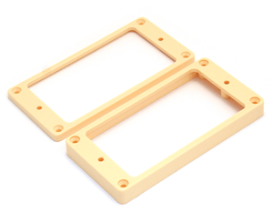 Allparts PC-0745-028 Humbucking Pickup Rings Non-Slanted Cream Pickup Rings Allparts