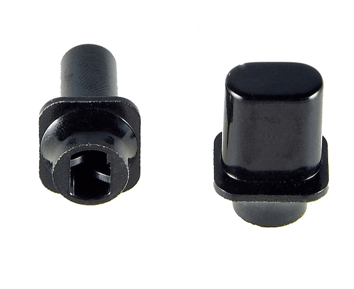 Allparts Black Switch Knobs for Telecaster