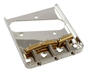 Allparts Nickel Vintage Compensated Saddle Bridge for Telecaster - Megatone Music
