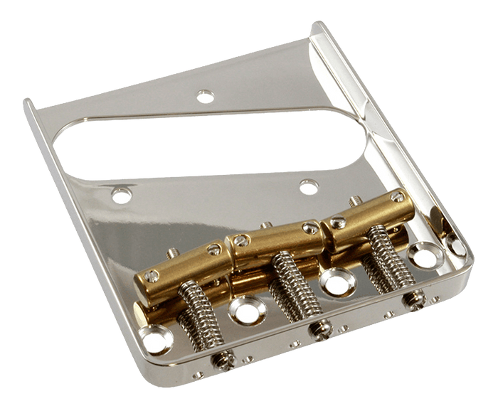 Allparts Nickel Vintage Compensated Saddle Bridge for Telecaster