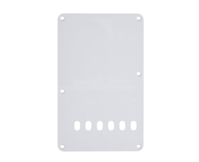 Allparts 1-Ply White Tremolo Back Plate