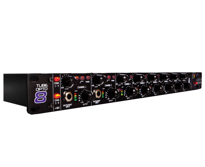 ART TubeOpto 8 Multi Channel Tube Preamp