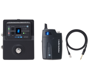 Audio Technica System 10 Stompbox Wireless Guitar System (ATW-1501) - Megatone Music