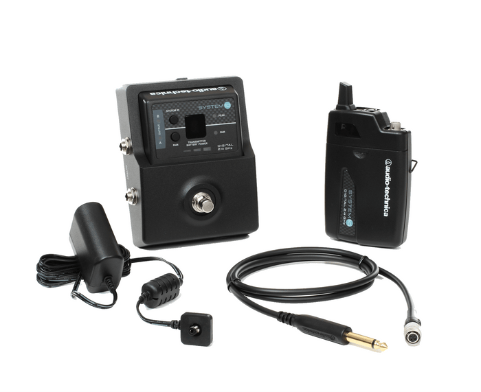 Audio Technica System 10 Stompbox Wireless Guitar System (ATW-1501)