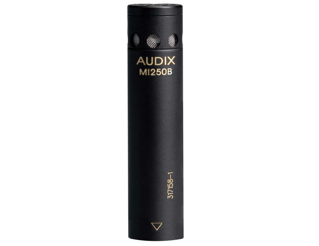 Audix M1250BHC Miniaturized Condenser Microphone with RFI Immunity (Hypercardioid) - Megatone Music