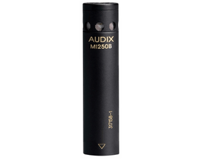 Audix M1250BHC Miniaturized Condenser Microphone with RFI Immunity (Hypercardioid) Microphones Audix