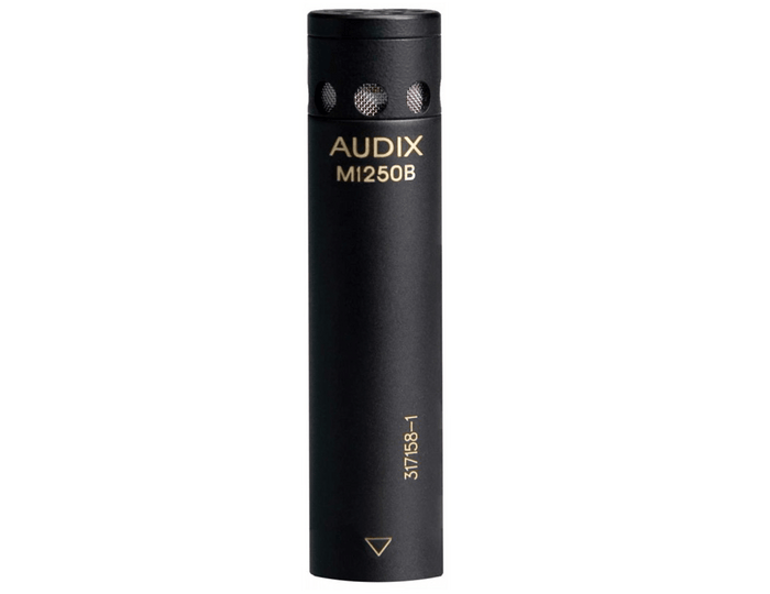 Audix M1250BHC Miniaturized Condenser Microphone with RFI Immunity (Hypercardioid)