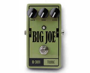 Big Joe Stomp Box Co Tube B-301 Overdrive Effects Pedal - USA Made - Megatone Music
