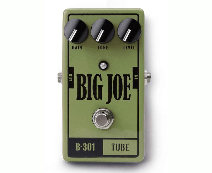 Big Joe Stomp Box Co Tube B-301 Overdrive Effects Pedal - USA Made