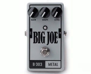 Big Joe Stomp Box Co Metal B-303 Distortion Effects Pedal - Megatone Music