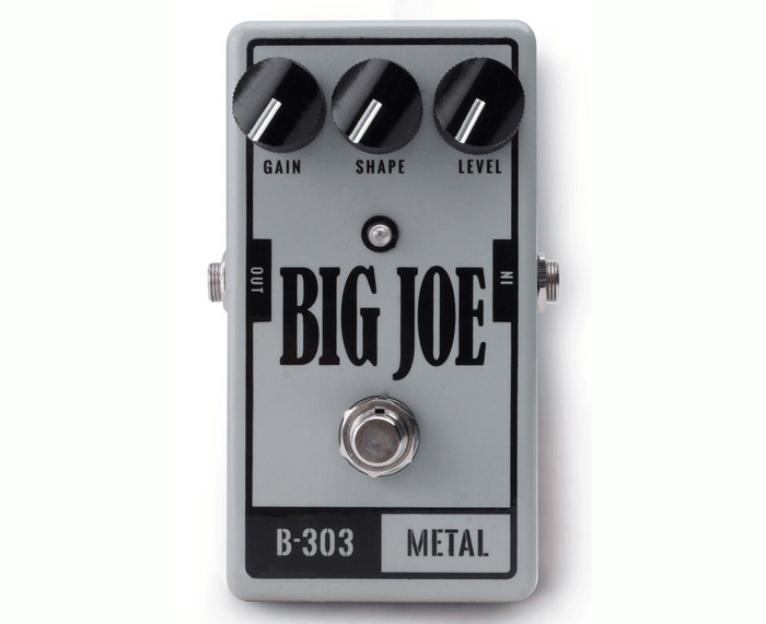 Big Joe Stomp Box Co Metal B-303 Distortion Effects Pedal