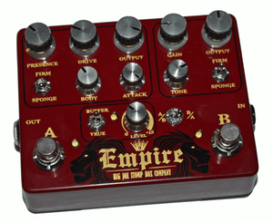 Big Joe Stomp Box Company Empire Analog Overdrive - Megatone Music