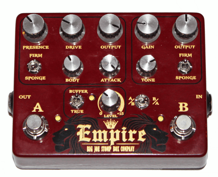 Big Joe Stomp Box Company Empire Analog Overdrive
