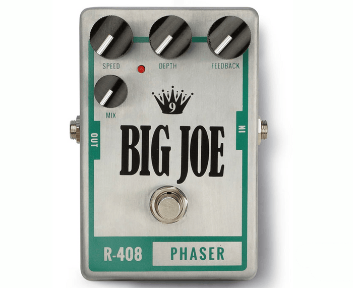 Big Joe Stomp Box Co Raw Series Phaser R-408 Effects Pedal