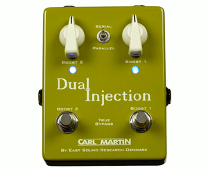 Carl Martin Dual Injection Boost Pedal - Megatone Music