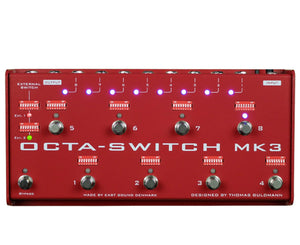 Carl Martin Octa-Switch MK3 8 channel Pedal Switcher Channel Switching Carl Martin