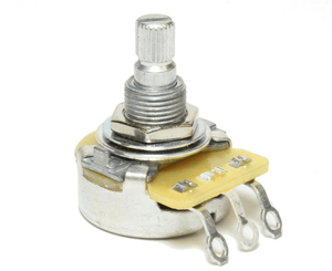 CTS 500K Split Shaft Audio Pot Potentiometer for Volume or Tone for Fender Stratocasters - Megatone Music