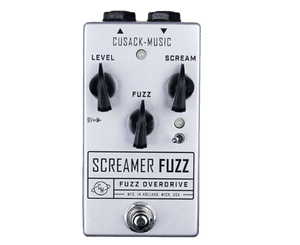 Cusack Music Screamer Fuzz V2 Overdrive Fuzz Effects Pedal Fuzz Cusack
