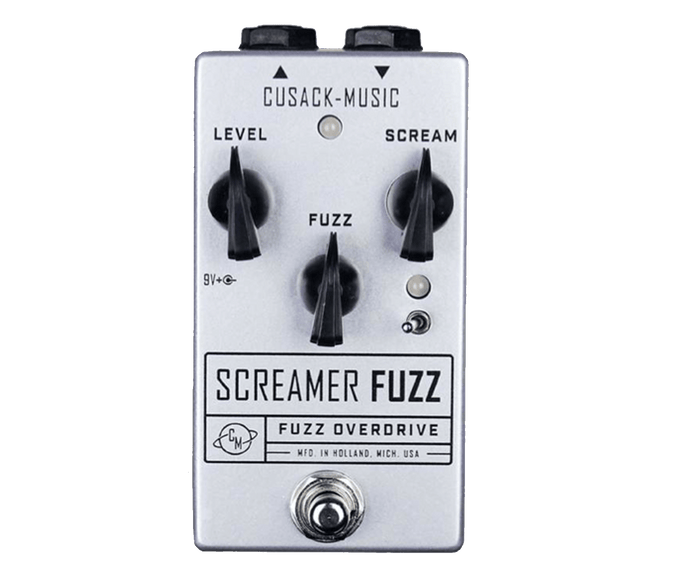 Cusack Music Screamer Fuzz V2 Overdrive Fuzz Effects Pedal