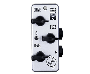 Cusack Music Scruzz - Mini Screamer Fuzz Effects Pedal Fuzz Cusack