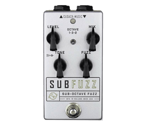 Cusack Music SubFuzz Effects Pedal Fuzz Cusack