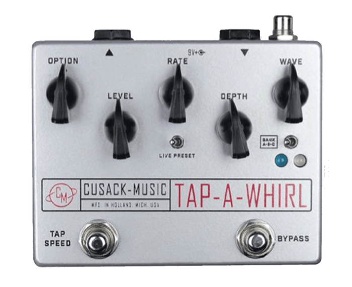 Cusack Tap-A-Whirl V3 Tremolo Effects Pedal