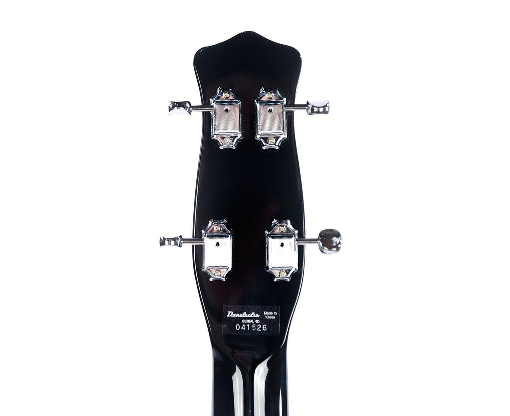Danelectro '59 DC Long Scale Bass Guitar In Black - Megatone Music