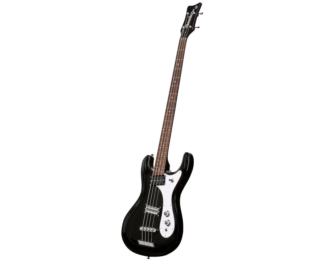 Danelectro '64 Electric Bass Guitar in Black - Megatone Music