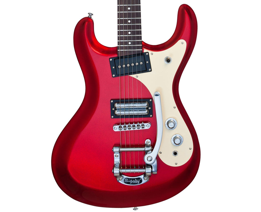 Danelectro '64 Electric Guitar In Metallic Red - Megatone Music