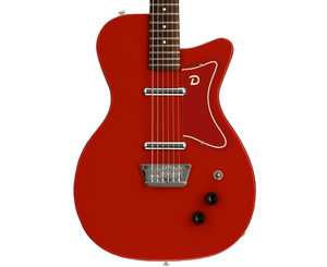 Danelectro '56 Baritone Electric Guitar in Red Electric Danelectro