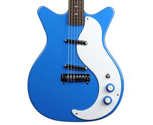 Danelectro '59M-NOS+ Electric Guitar in Go Go Blue Electric Danelectro