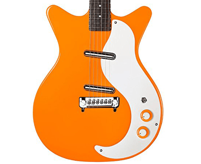 Danelectro '59M-NOS + Electric Guitar in Orange