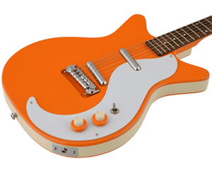 Danelectro '59M-NOS + Electric Guitar in Orange Electric Danelectro