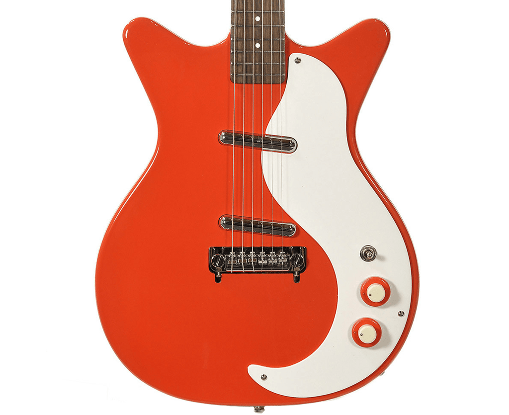 Danelectro '59M-NOS+ Electric Guitar in Red - Megatone Music