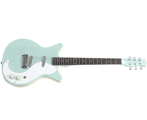 Danelectro '59M-NOS+ Electric Guitar in Sea Foam Green Electric Danelectro