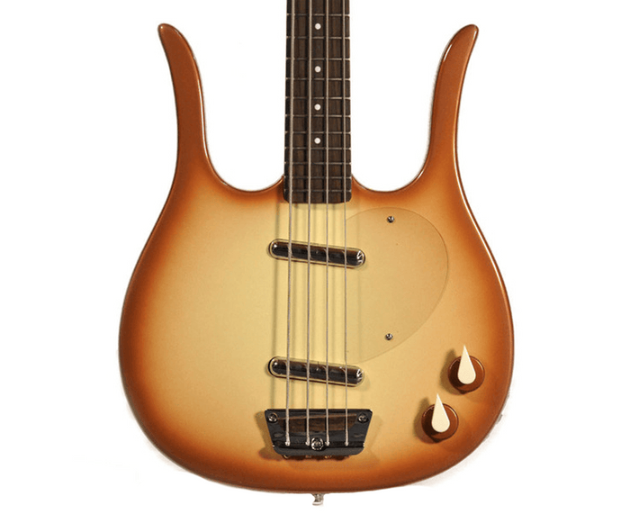 Danelectro Longhorn Bass Guitar in Copper Burst
