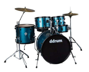 ddrum D2P Player Series Drum Kit in Blue Pinstriped