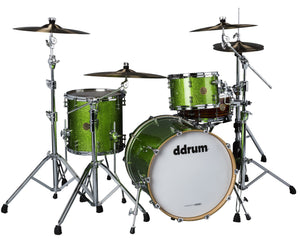 ddrum Dios DS MP-320EGS 3-Piece Emerald Green Sparkle Shell Pack - Megatone Music