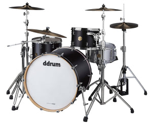 ddrum Dios DSMP-324 3-Piece Satin Black Shell Pack - Megatone Music