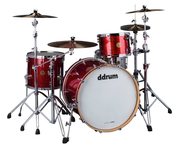 ddrum Dios DSMP-324RCS 3-Piece Cherry Sparkle Shell Pack