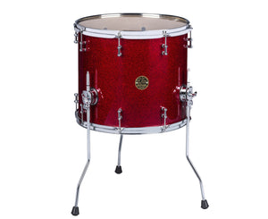 ddrum Dios Maple 16x18 Floor Tom in Red Sparkle - Megatone Music