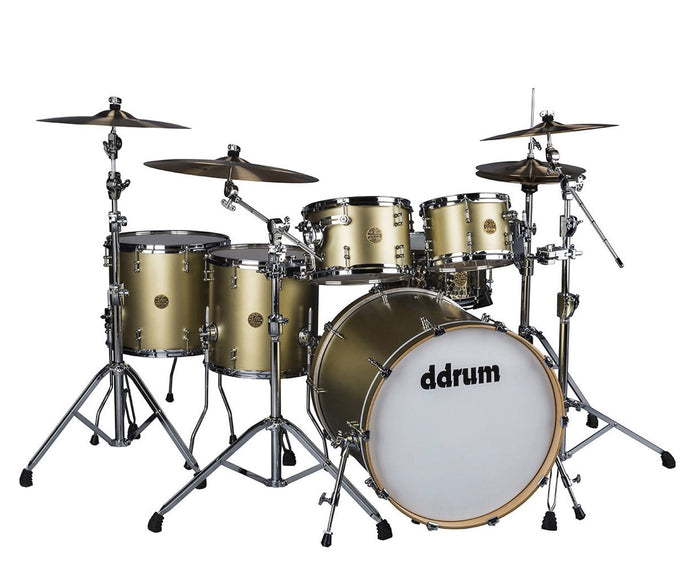 ddrum Dios 5-Piece Satin Gold Shell Pack