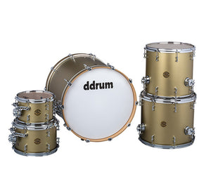 ddrum Dios 5-Piece Satin Gold Shell Pack Drum Kits DDrum