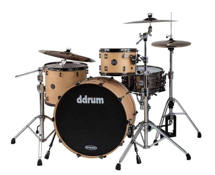 ddrum M.A.X. 3-Piece Satin Natural Shell Pack - MAX-322-SN