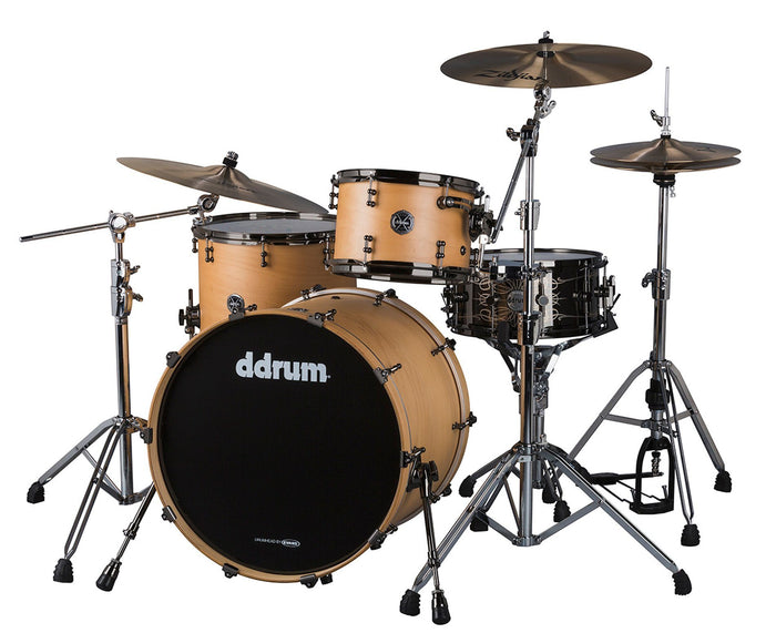 ddrum M.A.X. 3-Piece Satin Natural Shell Pack - MAX-324-SN