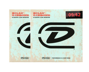 Dunlop Rev Willy's Lottery Brand 9-42 Electric Guitar Strings 2-Pack Electric Guitar Strings Dunlop