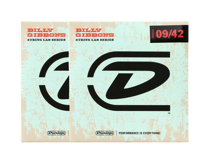 Dunlop Rev Willy's Lottery Brand 9-42 Electric Guitar Strings 2-Pack