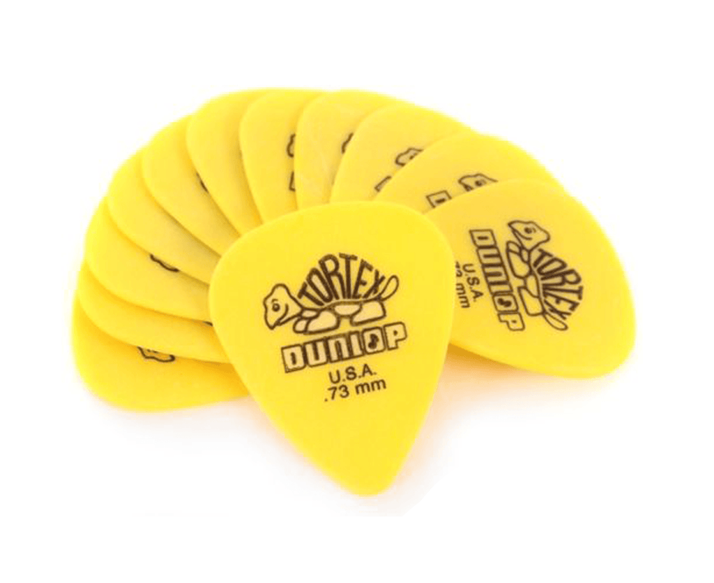 Dunlop 418P .73mm Tortex Standard Guitar Picks, 12-Pack - Megatone Music
