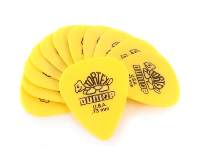 Dunlop 418P .73mm Tortex Standard Guitar Picks, 12-Pack