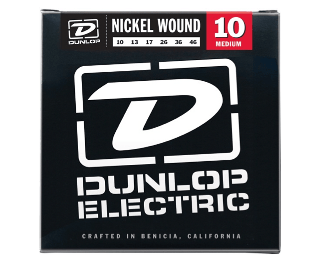 Dunlop DEN1046 Light 10-46 Medium Nickel Guitar Strings - Megatone Music